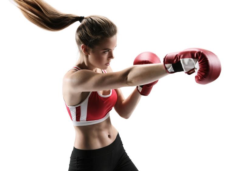 女性もボクシング